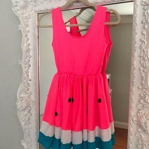 HOT PINK Juicy WATERMELON Dress